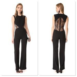 NWT MISHA COLLECTION Carmanda Lace Cutout Jumpsuit